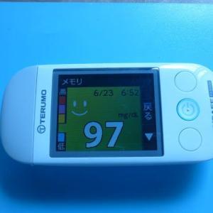 6/23 今朝の血糖値です。ステークホルダー