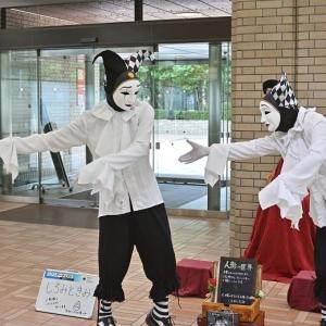 飯田橋セントラルプラザ 双子人形