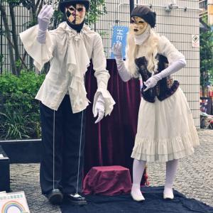 東京芸術劇場前にて17