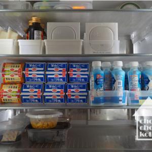 夫にドン引きされた冷蔵庫*買って応援、食べて応援