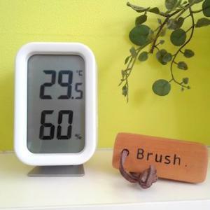 シンプル!見やすい!無印の湿温度計 & ポイントアップでノースフェイス♪