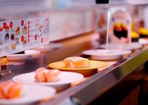 学生のとき家族で回転寿司に行っていたときの思い出