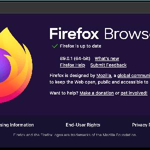 Firefox 89.0.1がリリース。