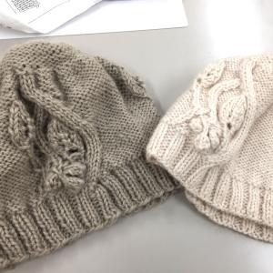 モナルカの帽子がまた完成しました♪