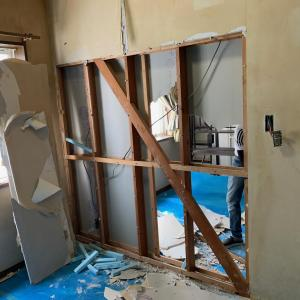 【施工事例】壁を撤去して、2部屋を1部屋にするリフォーム