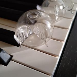 love love piano的ヘドバン。(¬∀¬)♪