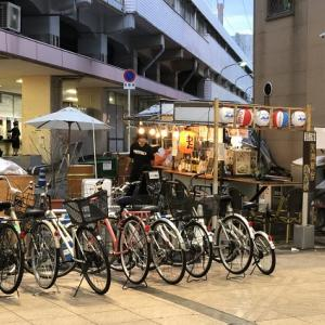 JR天満駅前の微妙な空間