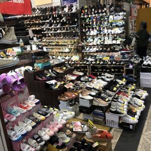 どんな靴を履くかで悩んでます