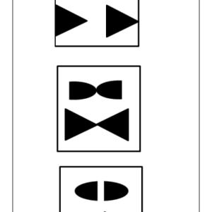 折り紙を4つ折りして自由に切って開くだけで線対称の概念が身につく?【小学校受験】