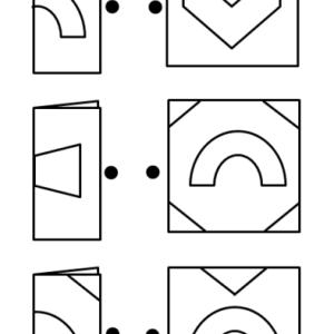 小学校受験の線対称・対称図形の問題につまずいたら折り紙を使おう!小学生・中学生になっても役に立つ