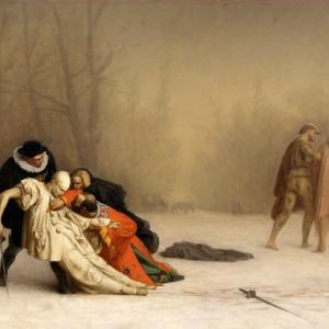 「仮面舞踏会後の決闘」ジャン・レオン・ジェローム ②名誉のための決闘は…