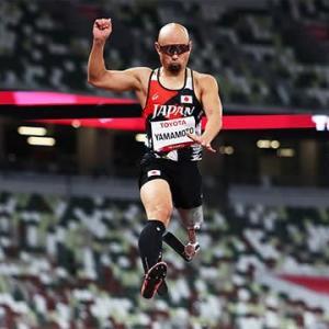 パラリンピック ③ プロパラアスリート 山本(39歳)