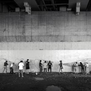 多摩川 Under The Bridge