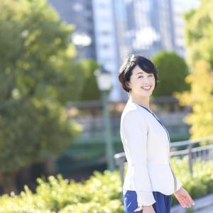 スピーチコンサルタント・フリーアナウンサー 船越美夏さんのプロフィール撮影でした