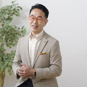 NHK「おはよう日本」に出演される松本秀男さんのプロフィール写真を撮影しました