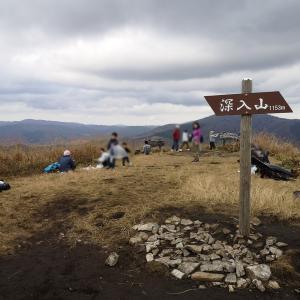 筒賀の大銀杏と深入山【四輪】