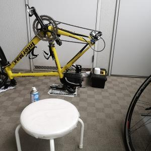 TPEAKパノコンと掃除 【ロードバイク】