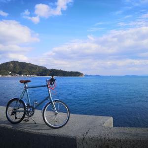 下蒲刈島 みかん 【ミニベロ自転車】