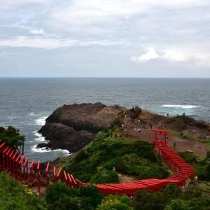 元ノ隅稲成神社と萩探索 【四輪】