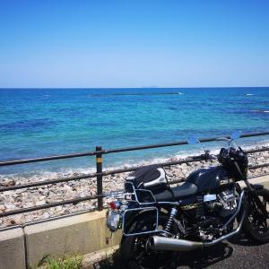 海の日なので日本海ツー