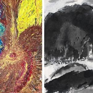 磁場との対話– 宮良志穂×高見乾司 Exhibition〈1-1〉/インフォメーション[オンライン展覧会<7-1>]