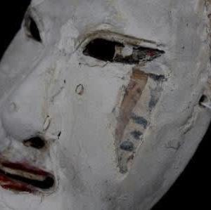 呪力を秘めた巫女の面/古式の「巫女」が立ち現れる時[古仮面を修復する〈8〉]