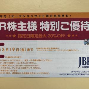 JBR、コナカ、AOKI、サノヤスから優待券!GMO売短でも使うか?