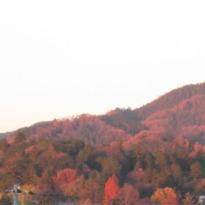 村雨の 露もまだひぬ まきの葉に 霧立ちのぼる 秋の夕暮れ