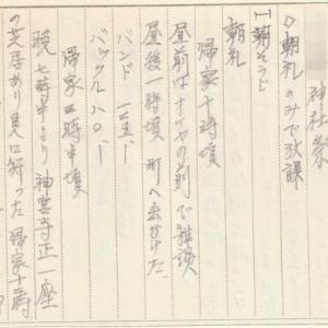 古い日記の1ページから炙り出される記憶 No.04