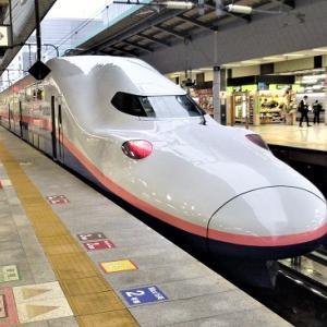 Pt1東北大縦断(2階建新幹線MaxときE4系,高架化一部完成新潟駅)