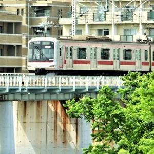 Pt3鶴見川/鉄道散歩(東急東横線,新潟名物へぎそば綱島イッシン)