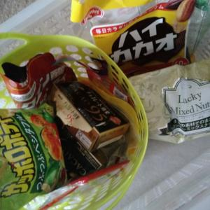 本日の我が家の「お菓子箱」