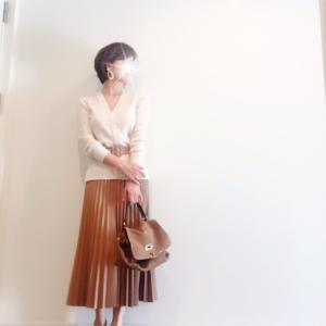 ZARAのプリーツスカートで秋を取り入れて。