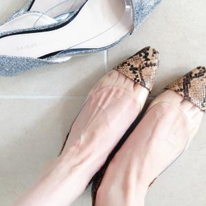 ZARAで買った靴〜。
