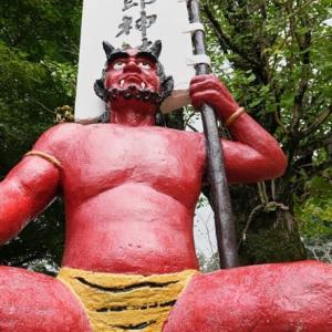 桃太郎神社を散策して