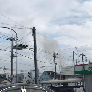 近所の火災と昨日のこと。