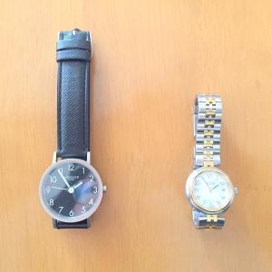 腕時計2本を専門店の修理に。その丁寧な対応に感動!