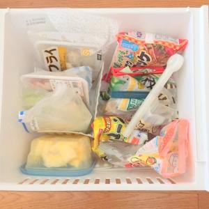 【収納】冷蔵庫スタンドを使って、食材を整理する Like-it/ライクイット 冷凍庫スタンド スライド式 仕切り5枚 ホワイト