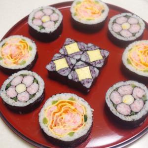 初めてさんでも3時間弱で巻ける☆飾り巻き寿司3級講座