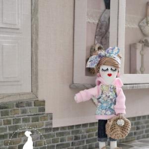 【ルルべちゃん】人気のドールチャーム*秋冬ファッション