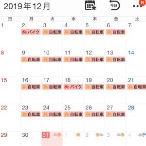 2019年12月の走行記録と一年のまとめ