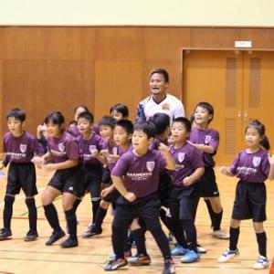 沖縄県サッカー協会・FC琉球主催のサッカー教室に参加しました!