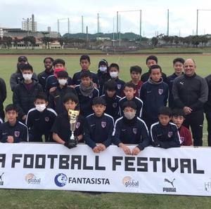 【優勝】HPAサッカーフェスティバル結果
