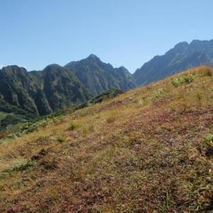 馬場島(赤谷山)から劔岳へ「北方稜線」