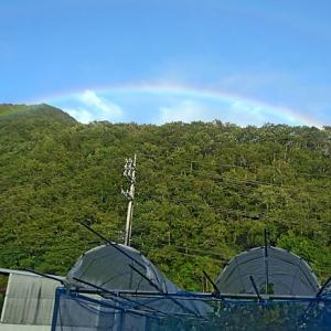 虹がキレイでした♪♪
