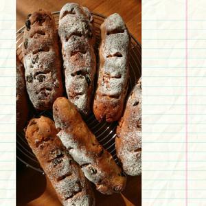 ライ麦パンとランチ