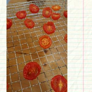 ドライトマトのオイル漬け