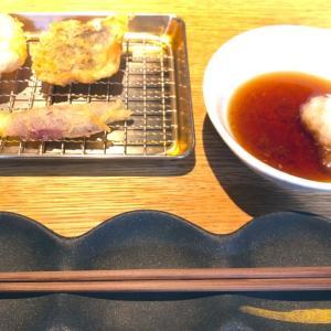 博多天麩羅 きんのたかお ビナガーデンズ海老名店のカウンターで天ぷら食べてきた