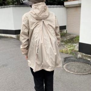 リュックごと雨から守るBAG in透湿レインスーツ【PR】