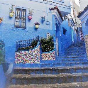 モロッコ(4)シャウエン旧市街の観光